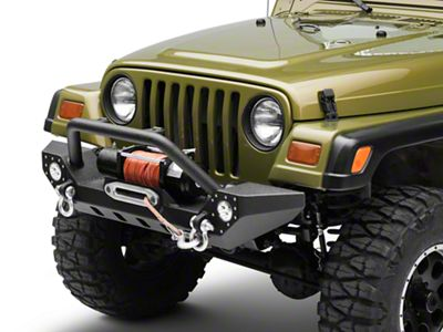 Barricade Adventure HD Bumper w/ LED Fog Lights (87-06 Jeep Wrangler YJ & TJ)