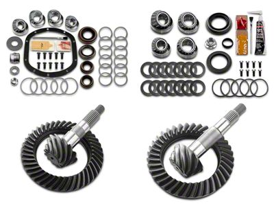 Motive Dana 30F/35R Complete Ring Gear and Pinion Kit - 4.10 Gears (97-06 Jeep Wrangler TJ, Excluding Rubicon)