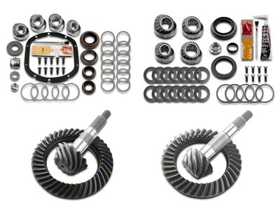 Motive Dana 30F/35R Complete Ring Gear and Pinion Kit - 4.56 Gears (97-06 Jeep Wrangler TJ, Excluding Rubicon)