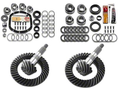 Motive Dana 30F/35R Complete Ring Gear and Pinion Kit - 4.88 Gears (97-06 Jeep Wrangler TJ, Excluding Rubicon)