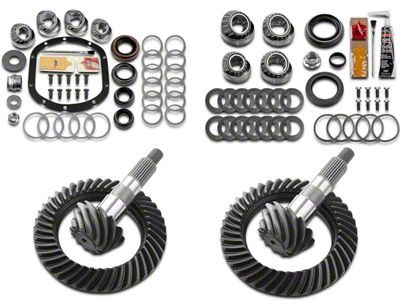 Motive Dana 30F/44R Complete Ring Gear and Pinion Kit - 4.10 Gears (97-06 Jeep Wrangler TJ, Excluding Rubicon)
