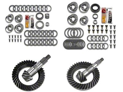 Motive Dana 30 Front Axle/44 Rear Axle Complete Ring Gear and Pinion Kit - 4.88 Gears (07-18 Jeep Wrangler JK, Excluding Rubicon)