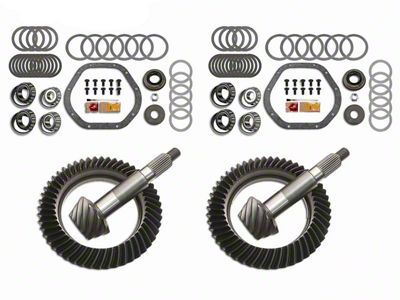 Motive Dana 44F/44R Complete Ring Gear and Pinion Kit - 4.56 Gears (03-06 Jeep Wrangler TJ Rubicon)