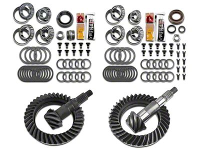 Motive Dana 44 Front Axle/44 Rear Axle Complete Ring Gear and Pinion Kit - 4.88 Gears (07-18 Jeep Wrangler JK Rubicon)