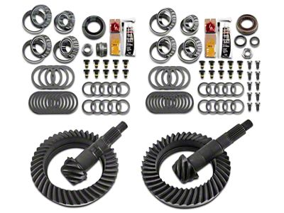 Motive Dana 44 Front Axle/44 Rear Axle Complete Ring Gear and Pinion Kit - 5.38 Gears (07-18 Jeep Wrangler JK Rubicon)
