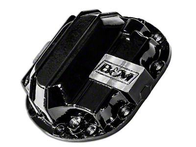 B&M Dana 30 Nodular Iron Differential Cover (87-18 Jeep Wrangler YJ, TJ, JK & JL)