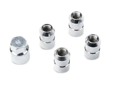 ARB Wheel Locking Nut Set for ARB Rear Tire Carrier (97-06 Jeep Wrangler TJ)