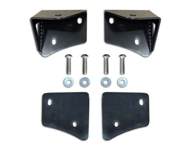 Poison Spyder A-Pillar Light Mounts (97-06 Jeep Wrangler TJ)