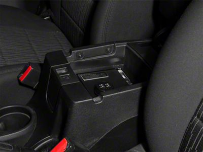 Lock'er Down Console Safe (11-18 Jeep Wrangler JK)