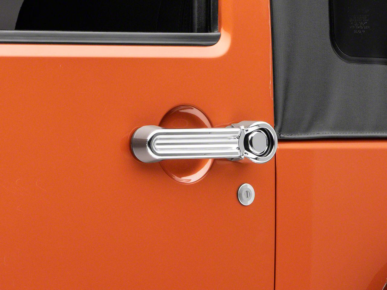 Chrome Door Handle Covers (07-18 Jeep Wrangler JK 2 Door)