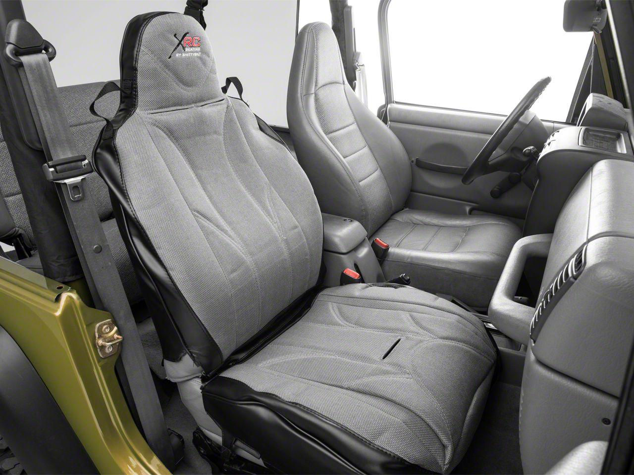 Smittybilt XRC Performance Front Seat Cover - Passenger Side (87-18 Jeep Wrangler YJ, TJ, JK & JL)
