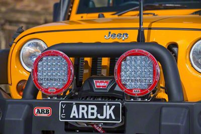 ARB Deluxe Combination Bull Bar - Black (07-18 Jeep Wrangler JK)