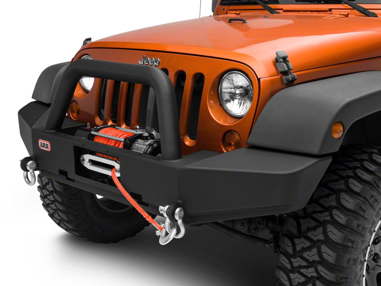 ARB Rock Bar Front Bumper (07-18 Jeep Wrangler JK)