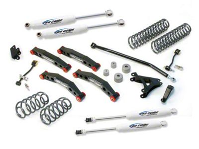 Pro Comp 4 in. Stage II Lift Kit w/ ES3000 Shocks (04-06 Jeep Wrangler TJ Unlimited)