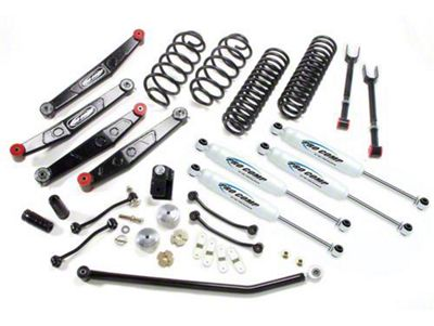 Pro Comp 4 in. Stage II Lift Kit w/ Pro Runner Shocks (07-18 Jeep Wrangler JK)