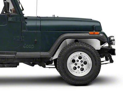 Poison Spyder DeFenders Solid Inner Fender Kit (87-95 Jeep Wrangler YJ)