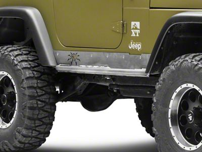 Poison Spyder Ricochet Rockets - Bare Steel (97-06 Jeep Wrangler TJ, Excluding Unlimited)