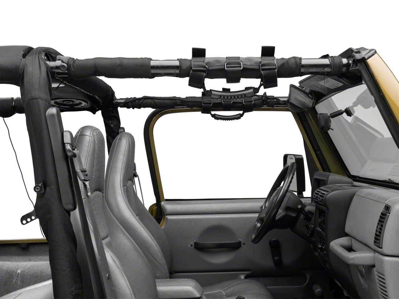Poison Spyder Roll Cage Grab Handles (87-18 Jeep Wrangler YJ, TJ, JK & JL)