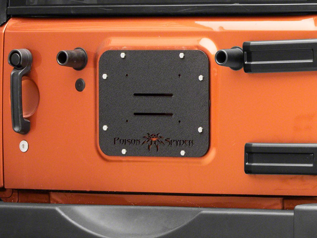 Poison Spyder Tramp Stamp (07-18 Jeep Wrangler JK)