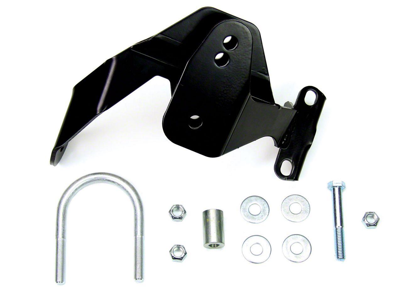 Teraflex 2.5 in. Rear Track Bar Axle Bracket Kit (07-18 Jeep Wrangler JK)