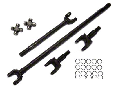 Alloy USA 27 Spline Front Axle Kit for Dana 30 (07-18 Jeep Wrangler JK)