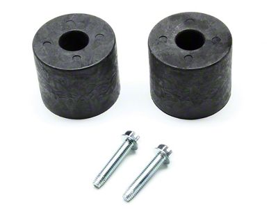 Teraflex 2.25 in. Front Lower Bumpstop Kit (97-18 Jeep Wrangler TJ & JK)