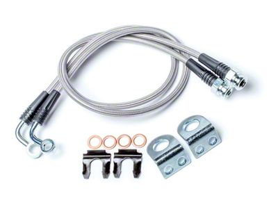 Teraflex 26 in. Front Brake Line Kit - Pair (07-18 Jeep Wrangler JK)