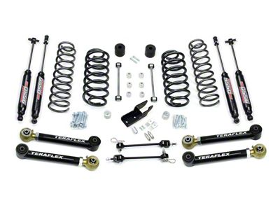 Teraflex 3 in. Lift Kit w/ Lower FlexArms & 9550 Shocks (97-06 Jeep Wrangler TJ)