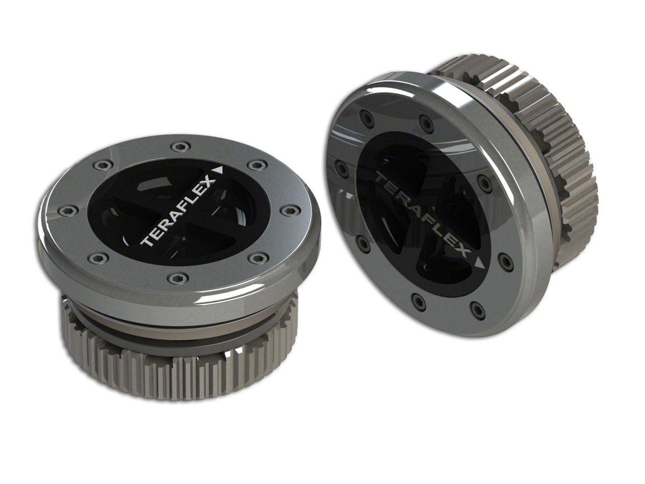 Teraflex 35 Spline SlimLock Hub Kit for Dana 60 (07-18 Jeep Wrangler JK)