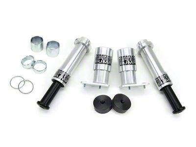 Teraflex 4 in. Front & Rear SpeedBump Kit (07-18 Jeep Wrangler JK)