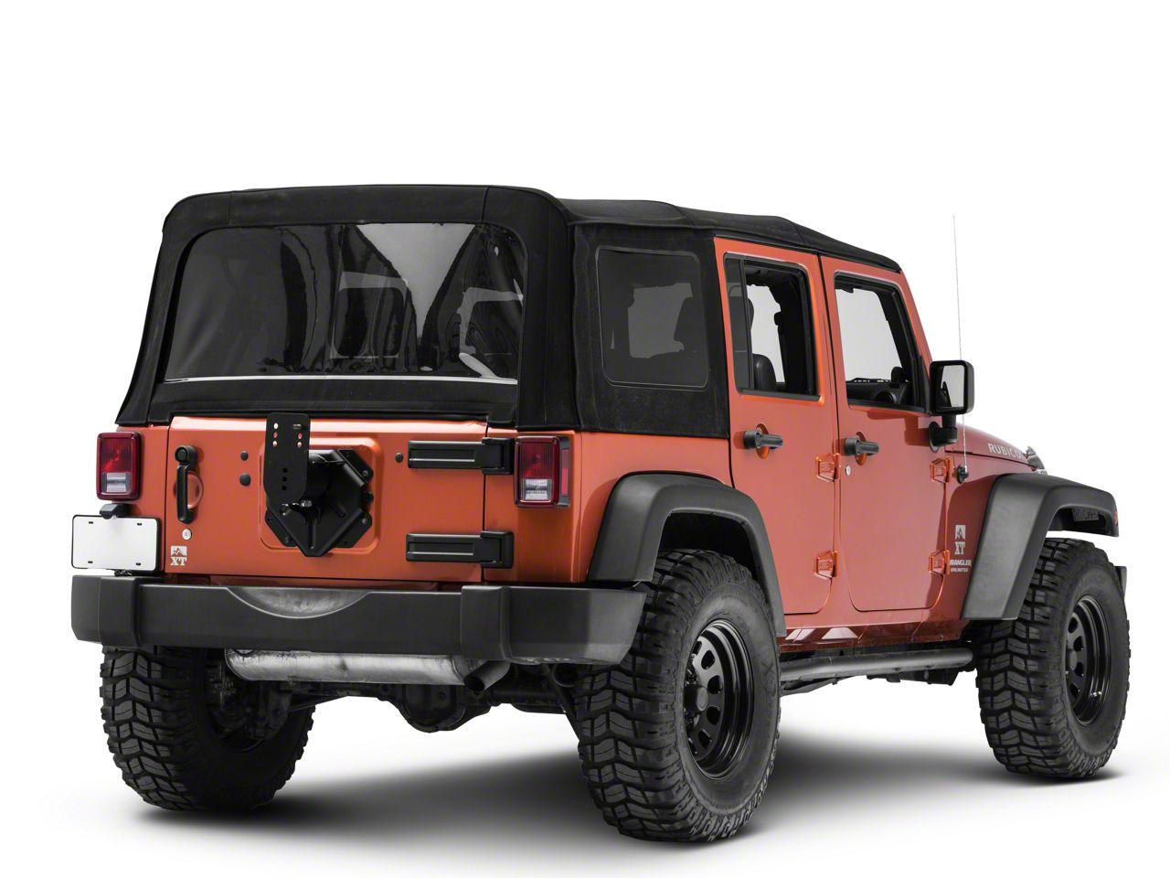 Teraflex Alpha HD Adjustable Spare Tire Mounting Kit (07-18 Jeep Wrangler JK)