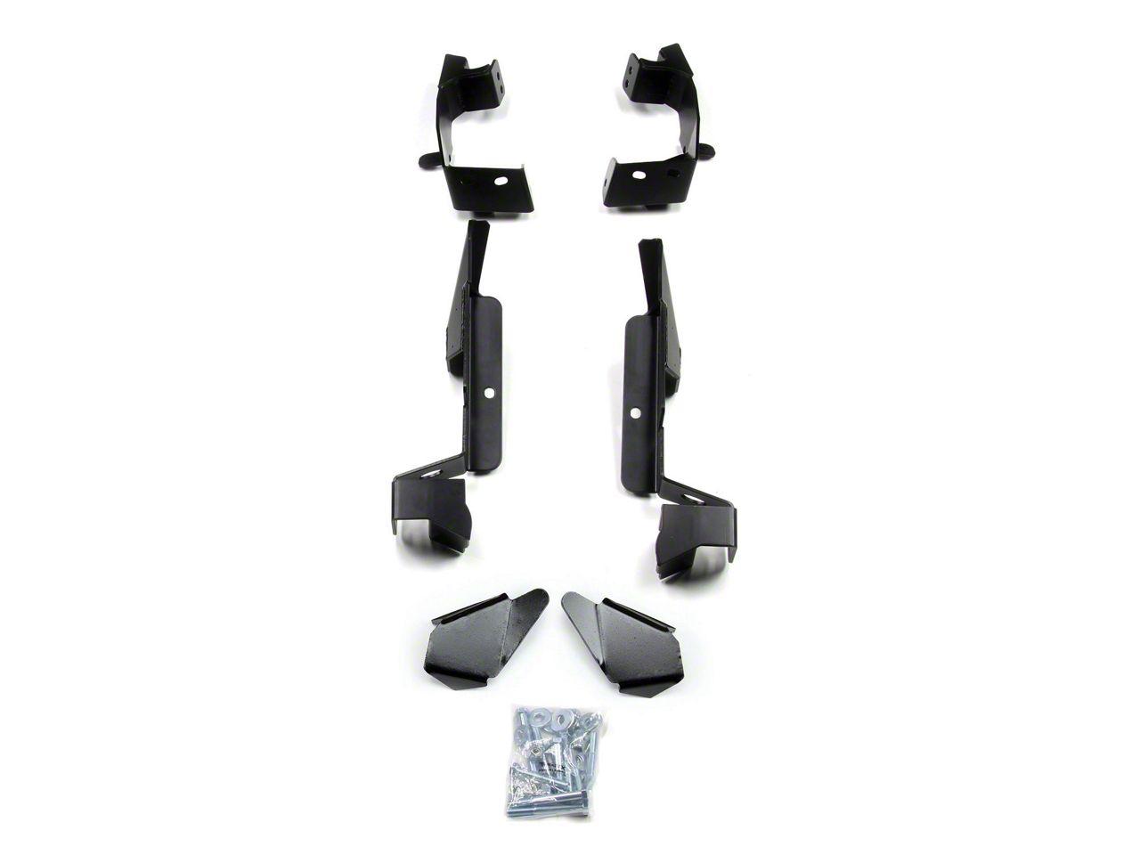 Teraflex Elite LCG Long Adjustable FlexArm Bracket Kit (07-18 Jeep Wrangler JK)