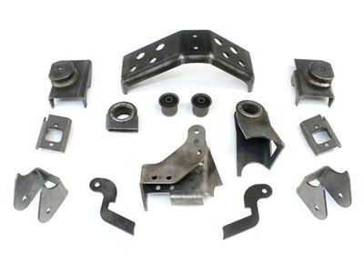 Teraflex Front Axle Bracket Kit (97-06 Jeep Wrangler TJ)