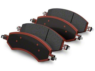 Teraflex Front Big Brake Semi-Metallic Pads & Clips (07-18 Jeep Wrangler JK)