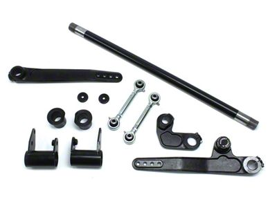 Teraflex Front Single Rate S/T Sway Bar Kit for 4-6 in. Lift (07-18 Jeep Wrangler JK)