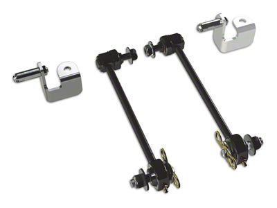 Teraflex Front Sway Bar Quick Disconnect Kit for 6 in. Lift (07-18 Jeep Wrangler JK)