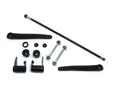 Teraflex Front Trail Rate S/T Sway Bar Kit for 4-6 in. Lift (07-18 Jeep Wrangler JK)