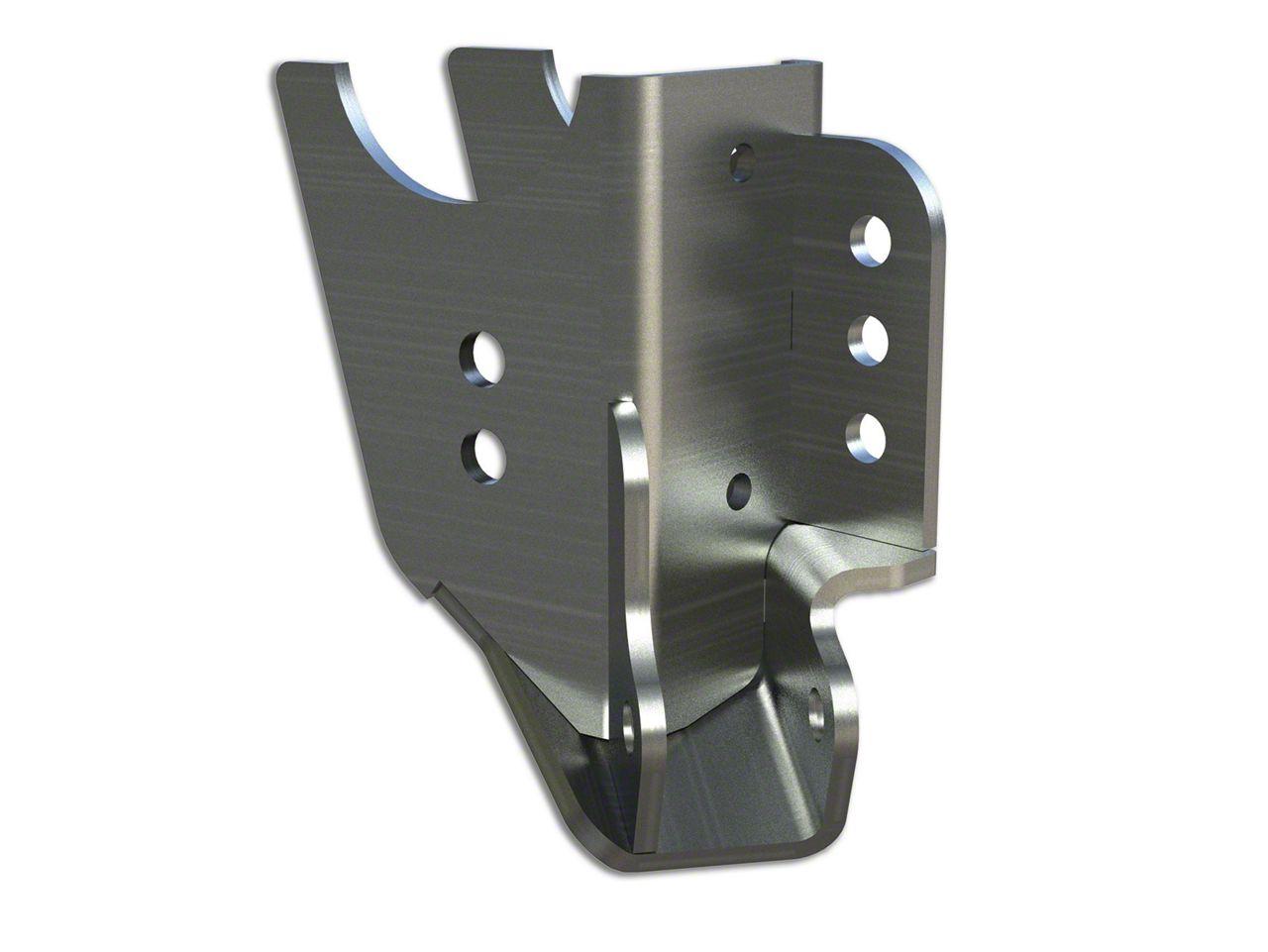 Teraflex Rear CRD60 Axle Bracket w/ Lower FlexArm & Shock Mount - Passenger Side (07-18 Jeep Wrangler JK)
