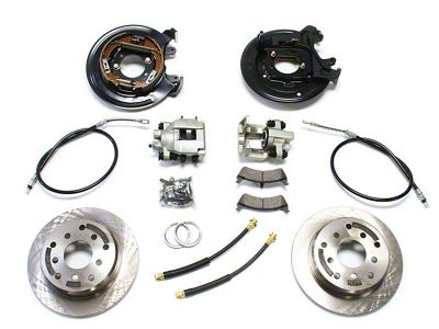 Teraflex Rear Disc Brake Conversion Kit w/ E-Brake Cables (97-06 Jeep Wrangler TJ)