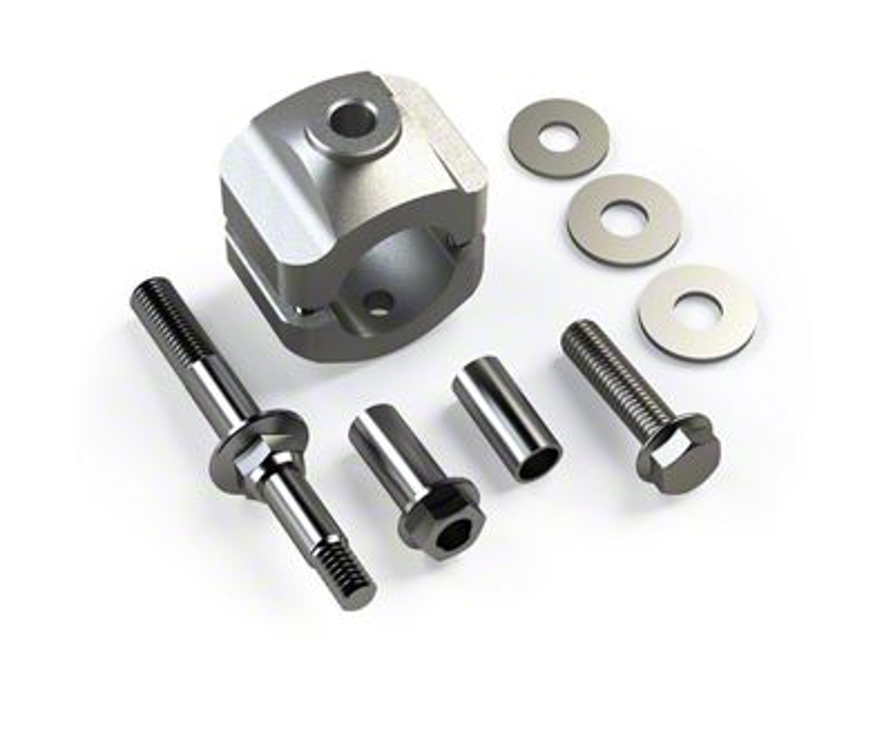 Teraflex Steering Stabilizer Relocation Kit for 1-5/8 in. Tie Rod (07-18 Jeep Wrangler JK)