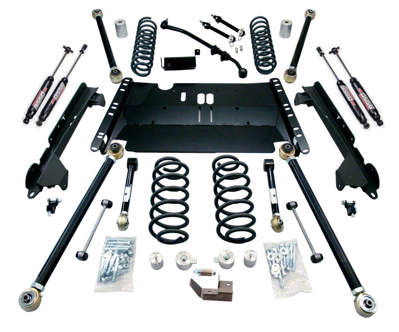 Teraflex 3 in. Enduro LCG Lift Kit w/ 9550 Shocks (97-06 Jeep Wrangler TJ)