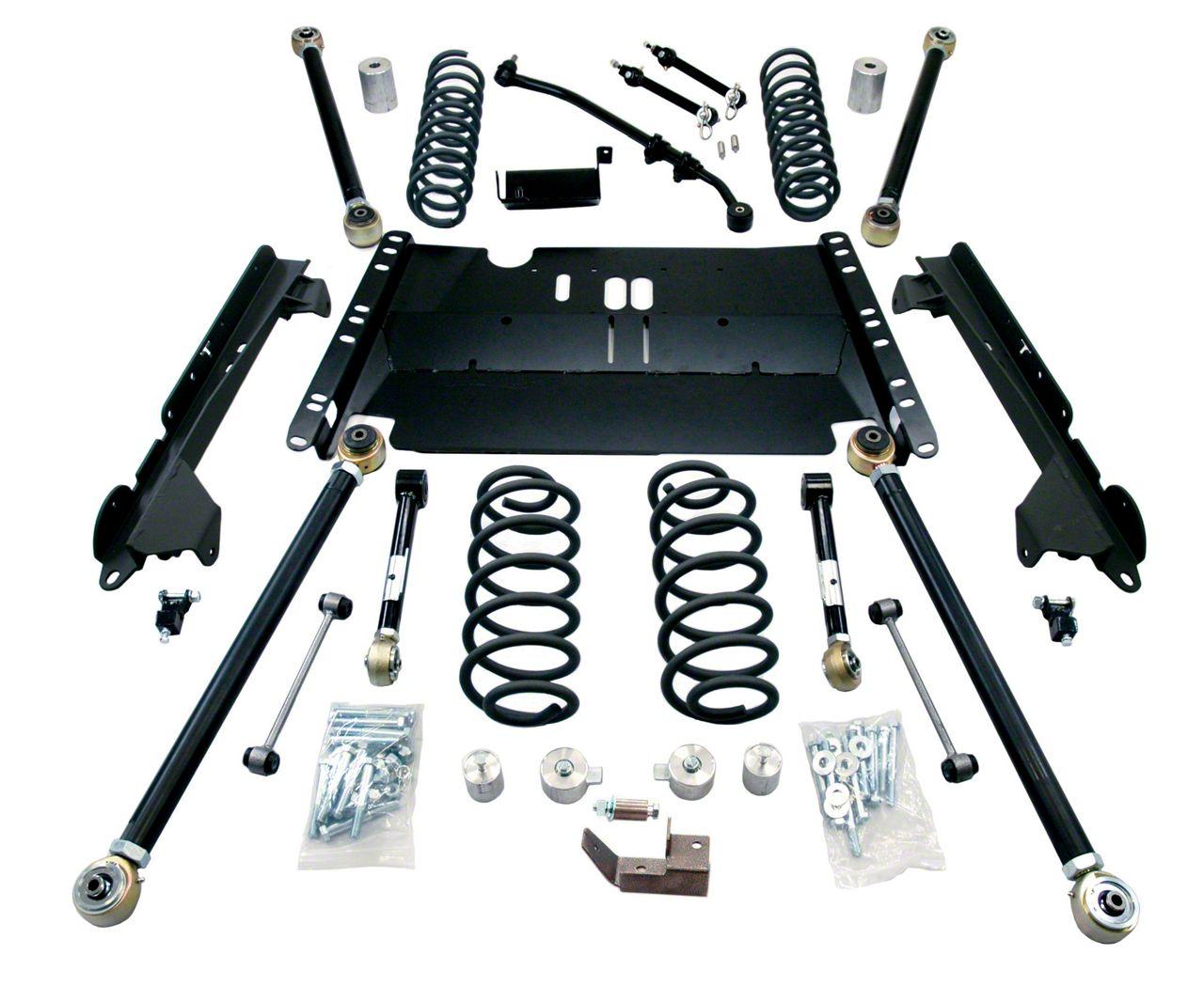 Teraflex 3 in. Enduro LCG Long FlexArm Lift Kit (97-06 Jeep Wrangler TJ)