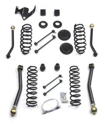 Teraflex 3 in. Suspension Lift Kit w/ Adjustable FlexArms (07-18 Jeep Wrangler JK 4 Door)