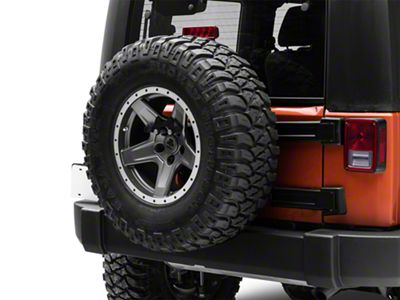 Teraflex Alpha License Plate & 3rd Brake Light Mount Kit (07-18 Jeep Wrangler JK)