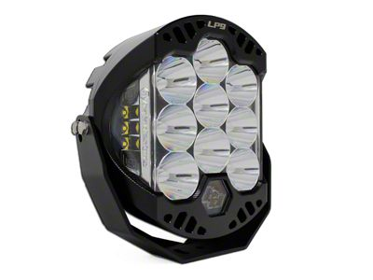 Baja Designs 8 in. LP9 Racer Edition Round LED Light - Spot Beam