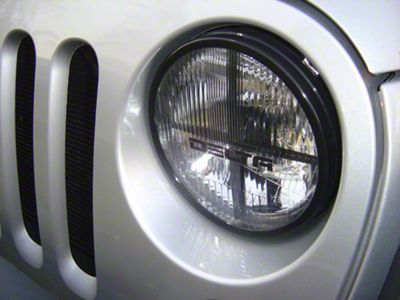 Delta Quad-Bar Xenon Headlights (07-18 Jeep Wrangler JK)