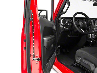 Delta Door Accent LED Light Strip - Red (87-18 Jeep Wrangler YJ, TJ, JK & JL)