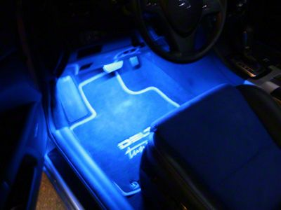 Delta Floor Accent LED Light Strip - Blue (87-18 Jeep Wrangler YJ, TJ, JK & JL)