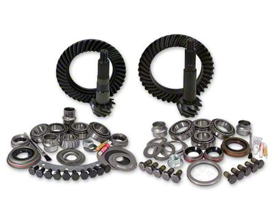 Yukon Gear Dana 30F/35R Ring Gear and Pinion Kit w/ Install Kit - 4.56 Gears (97-06 Jeep Wrangler TJ, Excluding Rubicon)