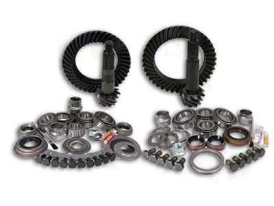 Yukon Gear Dana 30F/35R Ring Gear and Pinion Kit w/ Install Kit - 4.88 Gears (97-06 Jeep Wrangler TJ, Excluding Rubicon)
